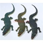 Игрушка резиновая 33 см «Крокодилы» 12 шт/уп