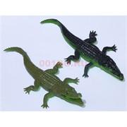 Пластиковая игрушка 18 см «Крокодил» 36 шт/уп