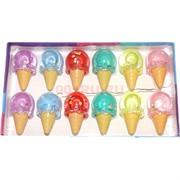 Лизун мялка «рожок мороженого» 12 шт/уп