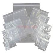 Фасовочные пакеты 100 шт Гриппер Zip Lock 5х7 см