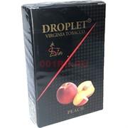 Табак для кальяна DROPLET Virginia Tobacco 50 гр «Peach»