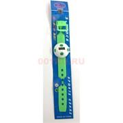 Часы зеленые (СС544) силиконовые 12 шт/уп