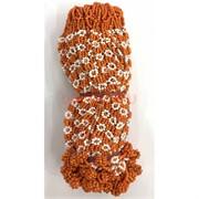 Фенечки в связке из бисера оранжевые (100 шт)
