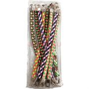 Цветные браслеты 12 шт/уп из кожзама