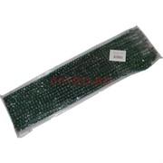 Четки мусульманские (D8-1090) длинные зеленые 12 шт/уп