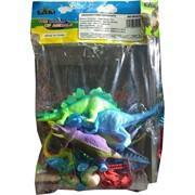 Динозавры твердые с аксессуарами 5 шт