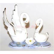 Лебеди фарфоровые (D03520) Delicate 9 см