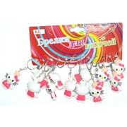 Брелок резиновый (KL-031) «Hello Kitty» 120 шт/уп