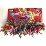 Брелок «дельфины цветные» KL-823 пластмассовые 120 шт/уп