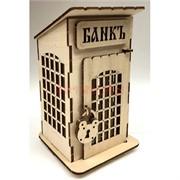 Копилка деревянная (MS-81) «Банкъ»