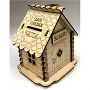 Копилка деревянная (MS-83) «Дом - полная чаша»
