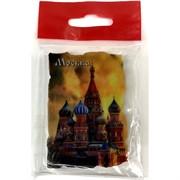 Магнит керамический (MS-109) «Москва Собор Василя Блаженного» вертикальный