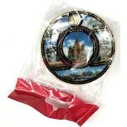 Магнит керамический (MS-133) «Москва» в виде тарелки