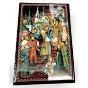 Деревянная подарочная шкатулка (MS-184) с картиной