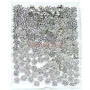 Мистический узел металлический 1 см под серебро