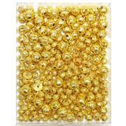 Подвеска металлическая круглая под золото 1 см