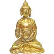 Будда фигурка бронзовая 12 см