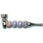 Трубка куриттельная металлическая «ажурная сетка»
