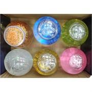 Magic Ball Slime слайм-лизун большой с блестками 6 шт/уп