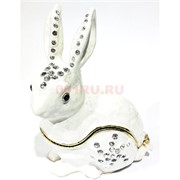 Шкатулка со стразами «Кролик» (3201)