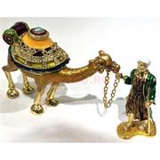 Шкатулка со стразами «Старец и верблюд» (3969)