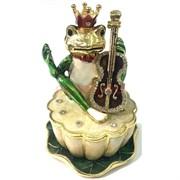 Шкатулка лягушка с короной (1475)