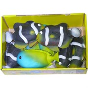 Резиновая игрушка «Рыбка» 12 шт/уп