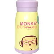 Бутылка для напитков (P-809) «Monkey» 50 шт/уп