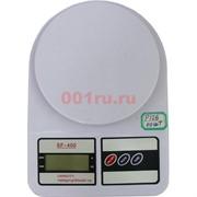 Весы (P-126) белые кухонные 40 шт/уп