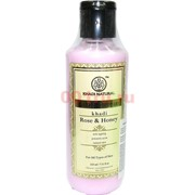 Увлажняющий крем Khadi Natural «Rose&Honey» 210 мл