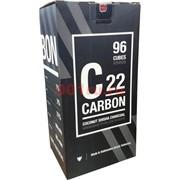 Уголь кокосовый Carbon 22 мм 96 кубиков
