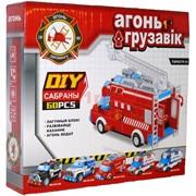 Машина конструктор Пожарная машина (ездит)