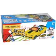 Машинка на батарейках со звуком Doodle Racing