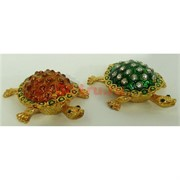 Шкатулка со стразами (4699) черепахи