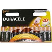 Батарейка Duracell оригинал AA пальчиковая алкалиновая цена за 12 шт