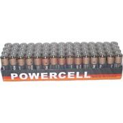 Батарейки пальчиковые АА Powercell 60 шт солевые