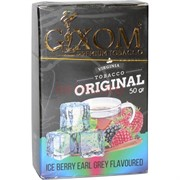 Табак для кальяна GIXOM 50 гр «Ice Berry Earl Grey»