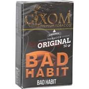 Табак для кальяна GIXOM 50 гр «Bad Habit»