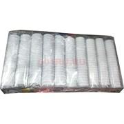 Резинки белые 30 мм 600 шт (KG-225B)