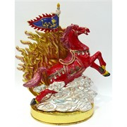 Металлическая шкатулка (NS-773S) «Лошадь»