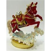 Металлическая шкатулка «Лошадь» 12 см