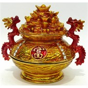 Металлическая шкатулка (NS-773) «Чаша символ богатства»