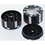 Пластмассовый гриндер «Покер» диаметром 50 мм