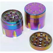 Металлический фиолетовый гриндер «револьвер» 40 мм