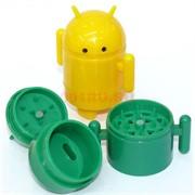 Пластмассовый гриндер «Android»  диаметром 40 мм