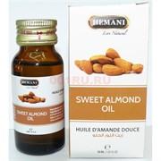 Масло сладкого миндаля «Hemani» 30 мл