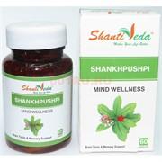 Шанкхапушпи в капсулах по 60 шт «Shanti Veda» 250 мг