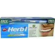 Зубная паста «Dabur Herb'l» для курильщиков 150 г с зубной щеткой