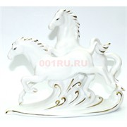 Лошади из фарфора 17 см пара