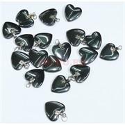 Подвеска для брелка «Сердце» из гематита
